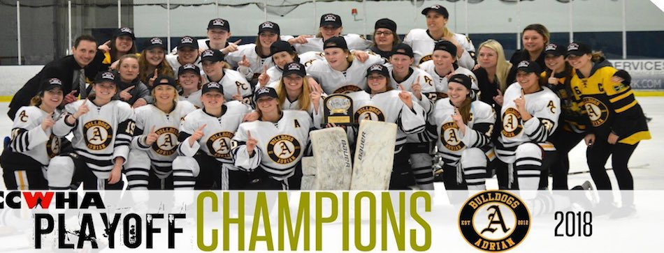 Congrats to the 2018 CCWHA Champion