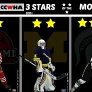 Astor, Hamill, and Gargasz With December Stars Of The Month Honors