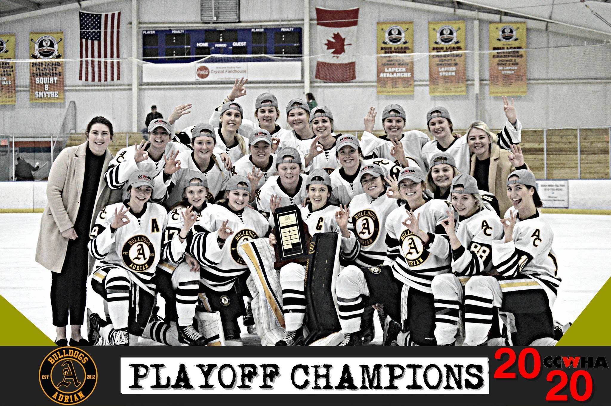 2020 CCWHA D1 Champs!