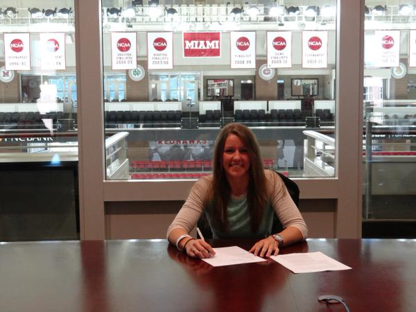 CCWHA Player signs professional contract!
